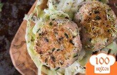 Фото рецепта: «Рыбные котлеты с капустой»