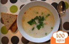 Фото рецепта: «Сырный суп с сосисками»
