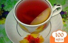 Фото рецепта: «Компот с черешней и лимоном»