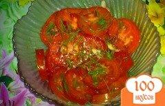 Фото рецепта: «Салат из помидор с арахисом»