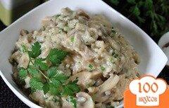 Фото рецепта: «Ризотто с курицей и грибами»