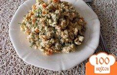 Фото рецепта: «Салат с консервированными грибами»