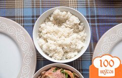 Фото рецепта: «Рис по-тайски с кокосовым молоком от Ле Кордон Блю»