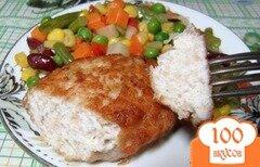 Фото рецепта: «Котлеты из индейки и курицы»