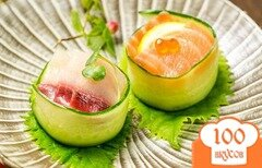 Фото рецепта: «Суши с огурцом»
