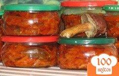 Фото рецепта: «Салаты на зиму с грибами»