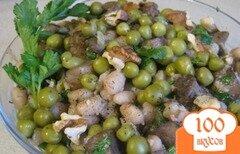 """Фото рецепта: «Салат """"Здоровье"""" с грибами»"""