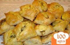 Фото рецепта: «Закусочные пирожки с грибами и сыром»