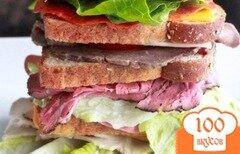 Фото рецепта: «Многослойный сэндвич Дегвуд»