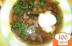 Фото рецепта: «Суп из грибов подберезовиков»
