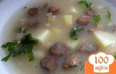 Фото рецепта: «Постный суп с грибами»