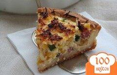 Фото рецепта: «Пирог киш с курицей»