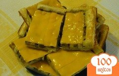 Фото рецепта: «Пирог с грибами и сыром»