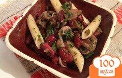 Фото рецепта: «Салат с грибами вкусный»