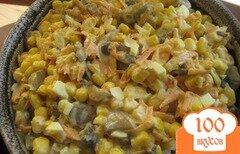 Фото рецепта: «Салат с грибами и яйцами»