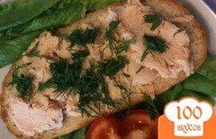 Фото рецепта: «Бутерброды с икрой трески»