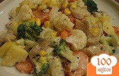 Фото рецепта: «Салат из вареных грибов»