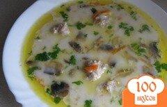 Фото рецепта: «Суп с фрикадельками и грибами»