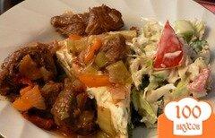 Фото рецепта: «Телятина с овощами»