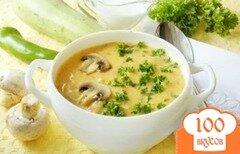Фото рецепта: «Куриный суп-пюре с грибами»