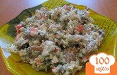 Фото рецепта: «Салат деревенский с грибами»