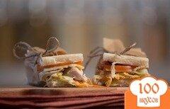 Фото рецепта: «Самый вкусный сэндвич с курицей»