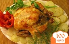 Фото рецепта: «Румяная курица в мультиварке»