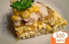 """Фото рецепта: «Салат с грибами """"Полянка""""»"""