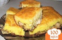 Фото рецепта: «Пирог с грибами и курицей»