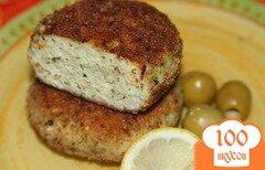 Фото рецепта: «Рыбные котлеты с кабачком»