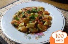 Фото рецепта: «Kabak Yemeği - кабачок с рисом»