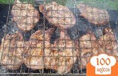 Фото рецепта: «Стейк из говядины на мангале»
