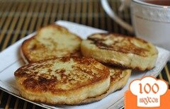 Фото рецепта: «Гренки с яйцом на сковороде»