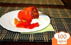 Фото рецепта: «Фаршированный перец в мультиварке»