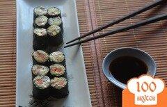 Фото рецепта: «Cыроедческие суши»