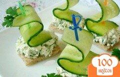 Фото рецепта: «Маленькие бутерброды на шпажках»