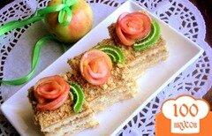 Фото рецепта: «Яблочный пляцок»