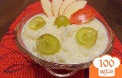 Фото рецепта: «Рисовая каша с фруктами в мультиварке»