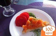 Фото рецепта: «Слабосоленый лосось в имбирно-апельсиновом маринаде»