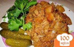 Фото рецепта: «Свинина с капустой и картошкой»