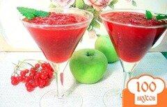 Фото рецепта: «Яблочно - калиновый джем»