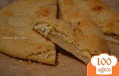 Фото рецепта: «Лепешка с начинкой»