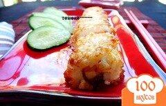 Фото рецепта: «Рисовые зразы с рыбо1»