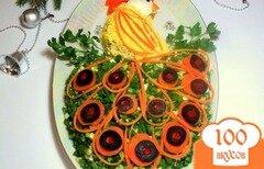 Фото рецепта: «Салат «Жар-птица»»