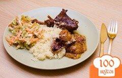 Фото рецепта: «Утка на сковороде»