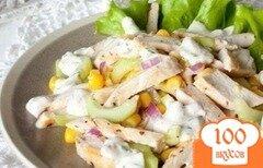 Фото рецепта: «Летний салат с курицей»