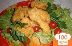 Фото рецепта: «Куриные кусочки в панировке»