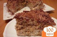 Фото рецепта: «Ореховый торт за 5 минут»