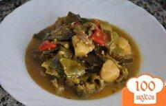 Фото рецепта: «Овощное рагу с брокколи»