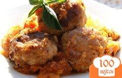 Фото рецепта: «Ежики из куриного фарша»